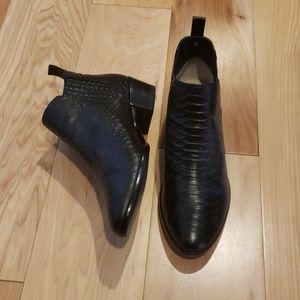 Black MK booties